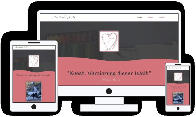 Link zu Referenzen Webdesign für Kleinbetriebe